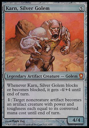 arena of the planeswalkers colorless card template colorless planeswalker karn rumor mill archive the