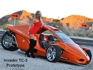 Homemade motorcycle reverse trikes car tuning