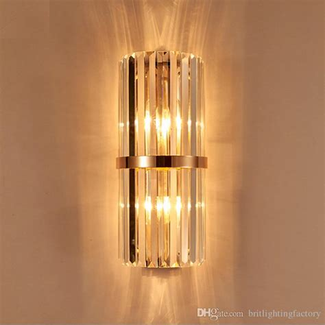gold crystal wall lights wall mounted bedside ls south africa messina 160