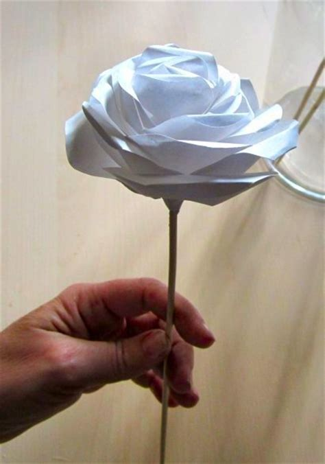 How To Make Realistic Paper Flowers - realistic paper roses 4