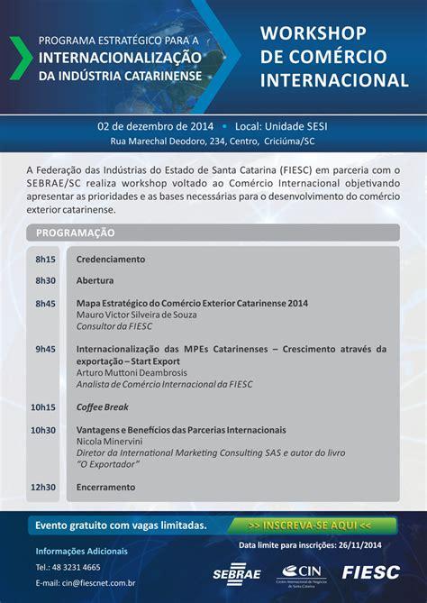 Mba Comercio Exterior by Portal Fiesc Net