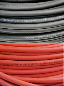 welding cable black 2 awg copper wire battery