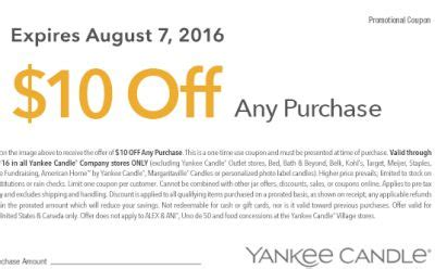 yankee candle printable coupons canada yankee candle printable coupon to save 10 off any