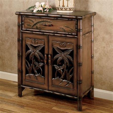 palm tree bedroom furniture tropical palm tree storage cabinet
