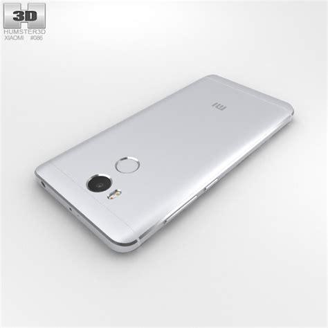 Xiaomi Redmi 4 Prime 3 xiaomi redmi 4 prime silver 3d model hum3d
