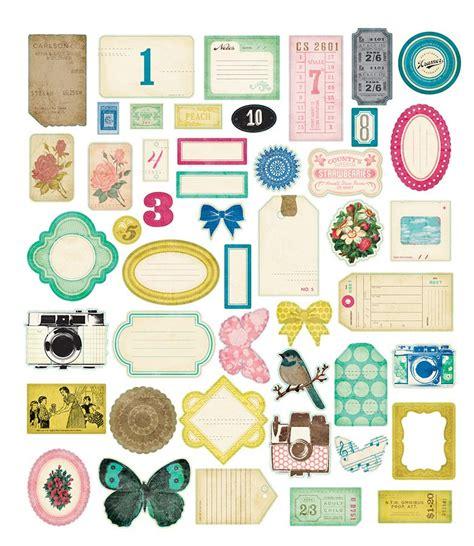 printable planner die cuts crate paper maggie holmes collection ephemera pack