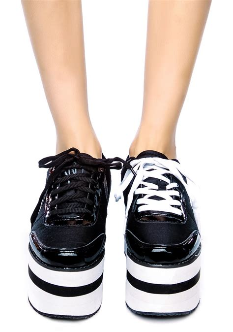 y r u krazii platform sneakers dolls kill
