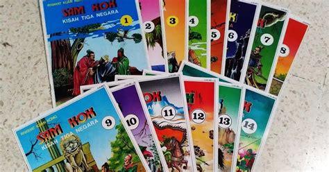 Sam Kok Epos Tiga Negara Jilid 2 djejak masa komik riwayat kuang kong sam kok kisah tiga negara 1 14