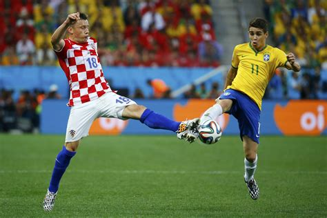 the 2014 fifa world cup kicks with brazil vs croatia
