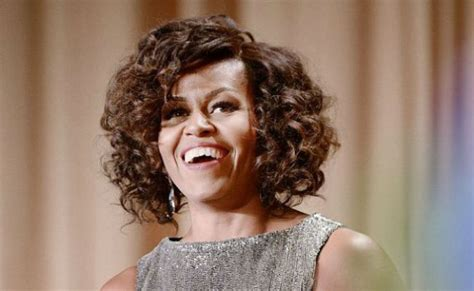 k michelle curly hairstyle michelle obama s curls north west s quot crazy quot afro what