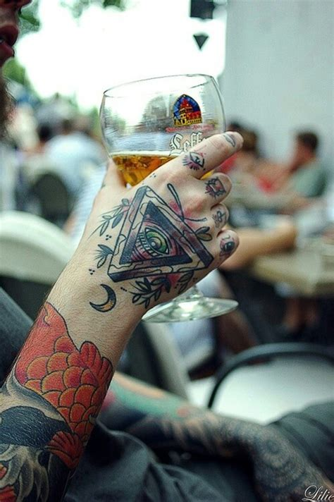 tattoo on all hand 101 awesome hand tattoos that will inspire you to get inked