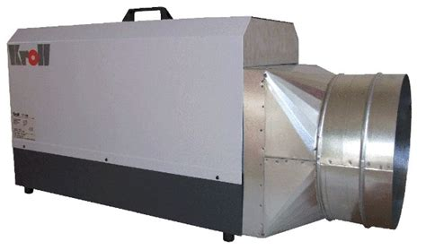 kroll   phase industrial electric heater  optional