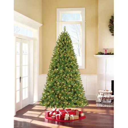 duncan fir tree time pre lit 7 5 kennedy fir artificial tree clear lights walmart