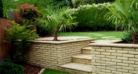 wall garden design garden walls landscape design