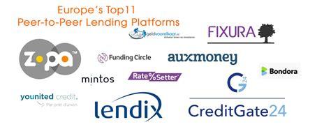 peer to peer loan europe s top 11 peer to peer lending platforms fintech