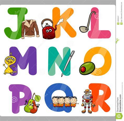 Commitment Letter O Que é Lettere Di Alfabeto Fumetto Di Istruzione Per I Bambini Illustrazione Vettoriale Immagine
