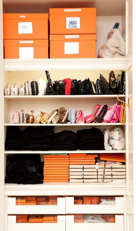 In Closet Hermes by Shelves For Bags Contemporary Closet The Coveteur