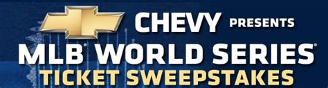 World Series Ticket Giveaway - mlb world series ticket sweepstakes form pittsburgh pirates
