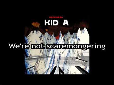 radiohead no surprises testo idioteque radiohead significato della canzone testo