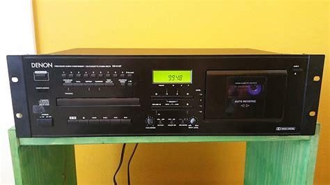 cd cassette player combo denon dn 610f studio cassette deck cd player combo