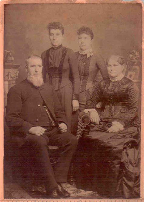 George And Martha Ls by Descendants Of And Margaret Hollenback