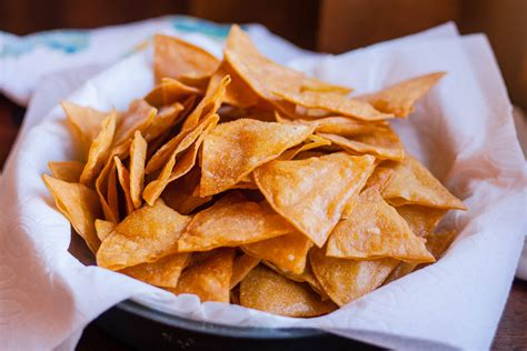 Handmade Chips - tortilla chips cooks