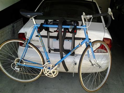 How Much Is A Bike Rack For A Car by Lock Your Bikes Bike Carrier To Your Vehicle 3 Steps