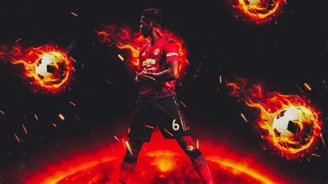paul pogba manchester united french footballer