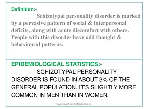 pervasive pattern meaning personality disorders