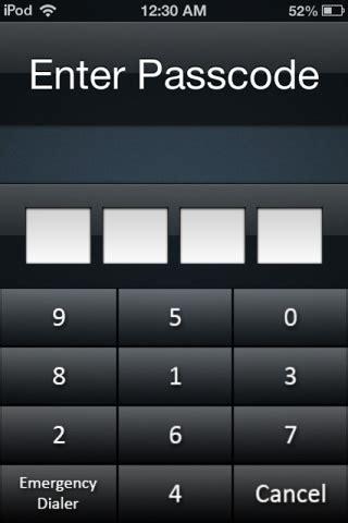 codescrambler scrambles iphone passcode keypad for greater security
