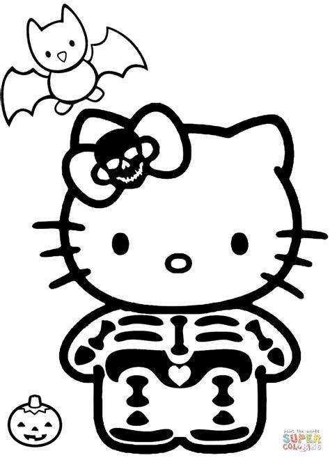 hello kitty zebra coloring page hello kitty halloween skeleton coloring page hello kitty