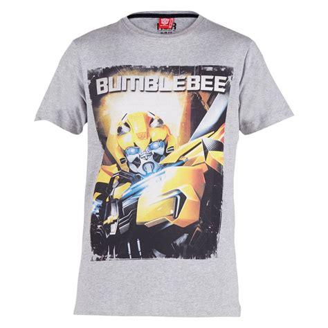 T Shirt Transformer 5 Bumblebee transformers bumblebee t shirt grey