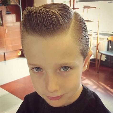 pompadour haircut toddler baby pompadour style pomade indonesia