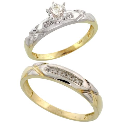 gold plated sterling silver 2 wedding