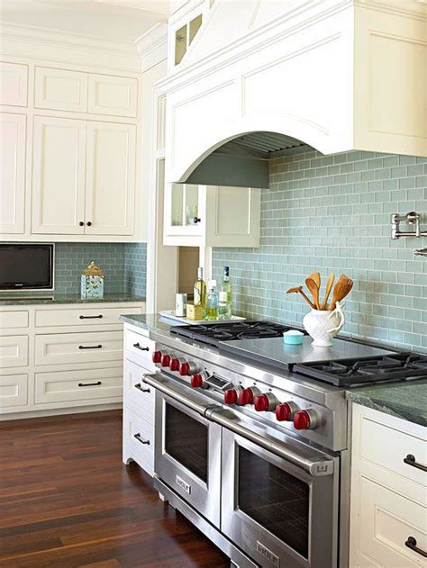 blue subway tile backsplash blue backsplash ideas stove subway tile backsplash and