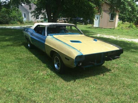 L Bases For Sale by 1970 Dodge Challenger Base Convertible 2 Door 5 6l For