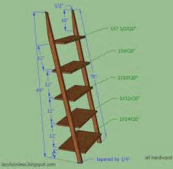 Free Woodworking Plans Bookshelf by 25 Great Ideas About Ladder Shelves On Pinterest
