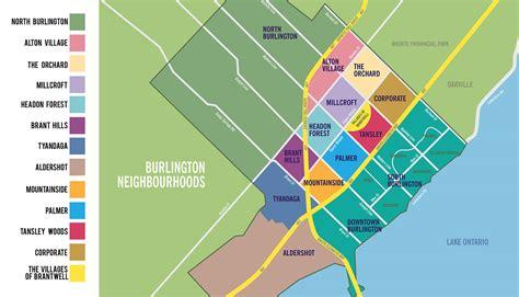 map of burlington featured burlington real estate listings