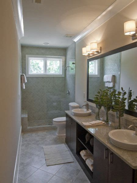 narrow bathroom design best 25 small narrow bathroom ideas on pinterest