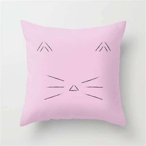 Cat Throw Pillow by 25 Throw Pillows Edition