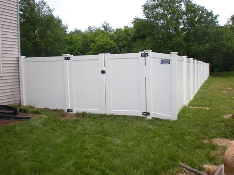12 Foot Vinyl Gate by Backyard Privacy Fences Different Cheap Privacy Fence