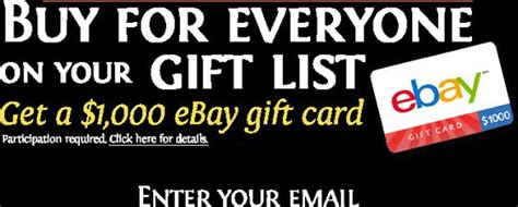 1000 Dollar Gift Card - gift cards ebay and cards on pinterest