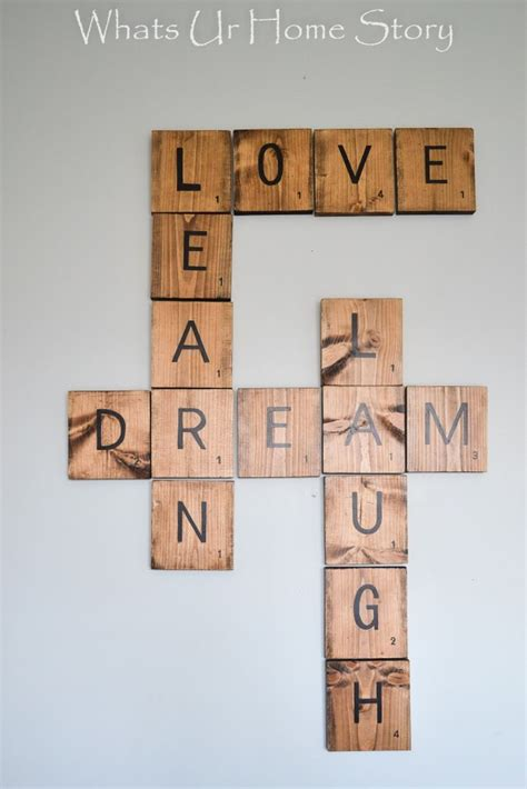 25 best ideas about scrabble tile crafts on