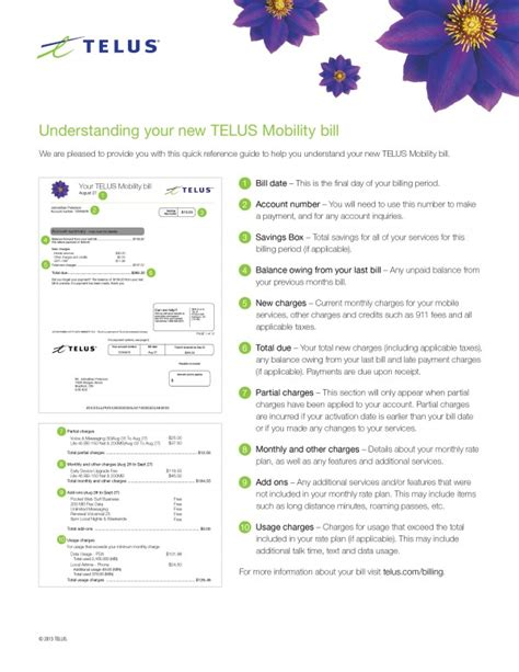 Telus Mobility Phone Number Lookup Understanding Your Mobility Bill Help Telus