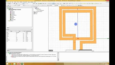 calculate pcb inductor part 3 ansys maxwell calculating the inductance of wpt coil