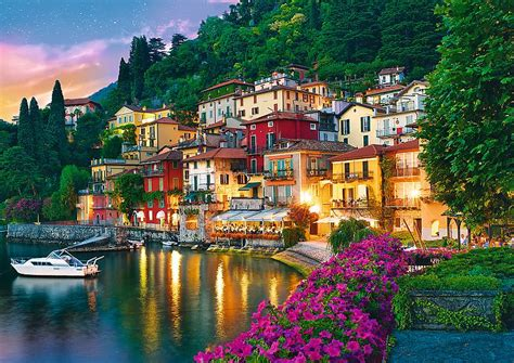 lake como italy jigsaw  trefl   pieces