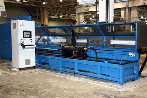 hydraulic cylinder test bench integrated hydraulic cylinder test bench with movable v blocks titan inc titan inc
