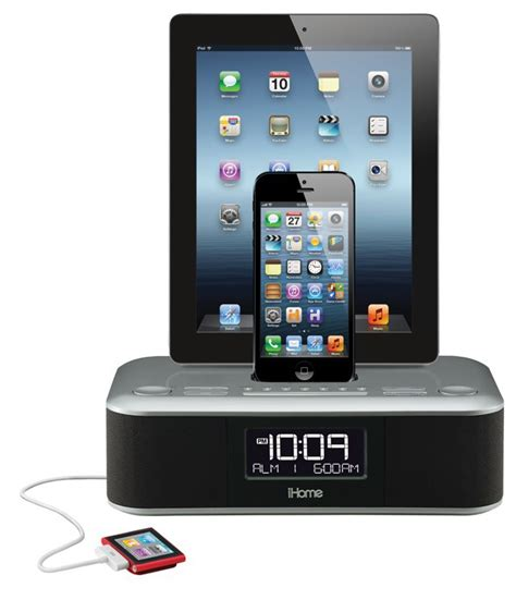 i home ihome s lightning alarm clock will charge everything