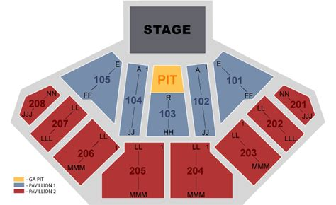 tinley park concert seating chart casino hitheatre chicago tinley park il