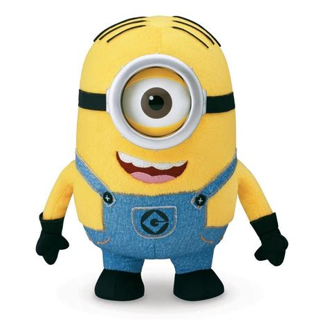 new despicable me 2 minion stuart 25cm soft plush toy ebay